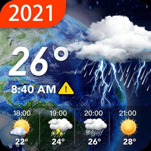Widget meteorológico del tiempo local