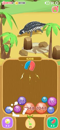 Dino 2048: Merge Jurassic World 1.0.9 screenshots 3