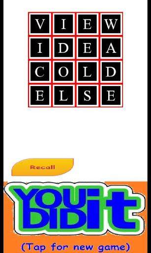 word sudoku screenshot 3