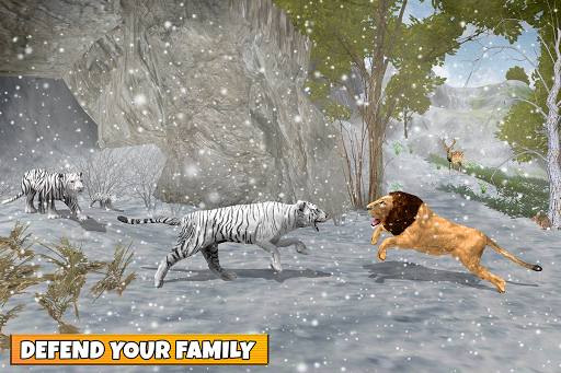 Snow Tiger Family apkmr screenshots 10