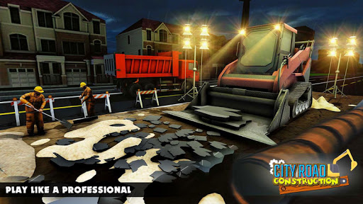 Mega City Road Construction Machine Operator Game 3.9 screenshots 12