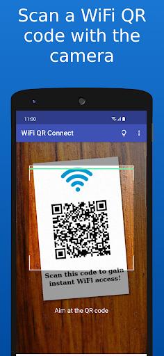 WiFi QR Connect Apkfinish screenshots 1
