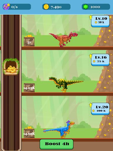 Jurassic Pixel Craft: dino age  screenshots 5
