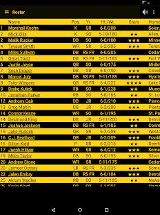 Hawkeye Football Schedule