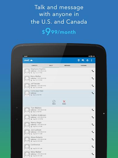 Line2 - Second Phone Number 4.2.2 Screenshots 8