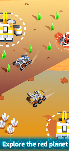 Space Rover: Idle planet mining tycoon simulator  screenshots 1