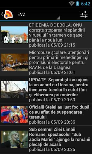 Stiri din Romania 4.9.0 Screenshots 3