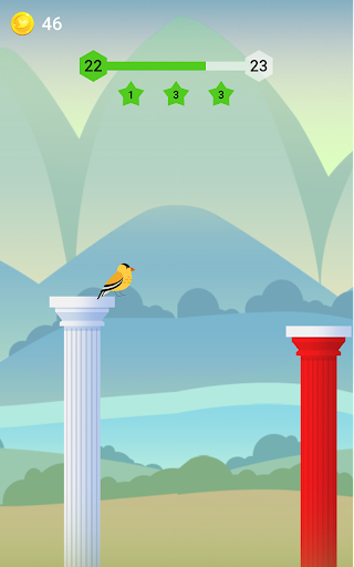 Bouncy Bird: Casual & Relaxing Flappy Style Game 1.0.7 screenshots 4