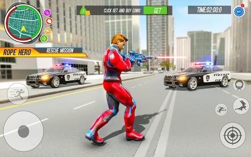 Spider Rope Hero: Vice Town  screenshots 8