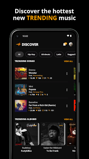 Audiomack: Download New Music Offline Free apktram screenshots 3