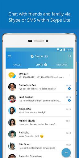 Skype Lite - Free Video Call & Chat 1.84.76.1 Screenshots 1