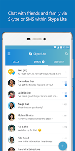 Skype Lite – Free Video Call & Chat Mod 1.88.76.1 Apk (Unlocked) 1