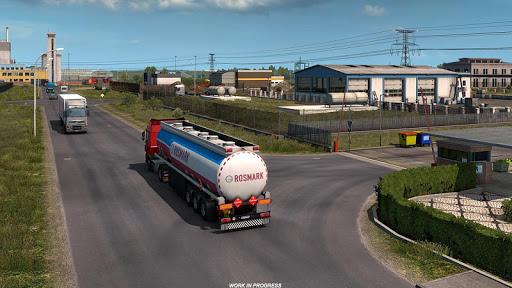 Oil Tanker Transport Simulation : Euro Truck Drive screenshots 2