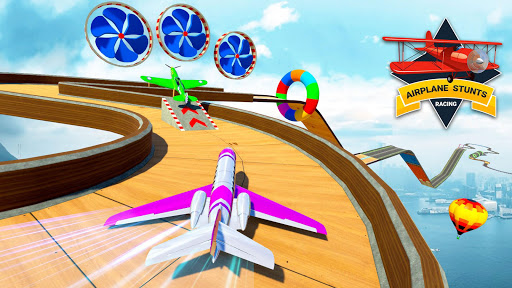 Plane Stunts 3D : Impossible Tracks Stunt Games apkmr screenshots 12