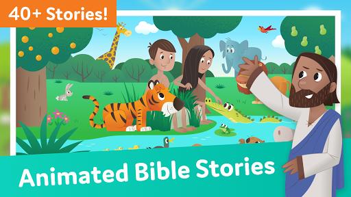 Bible App for Kids: Audio & Interactive Stories  Screenshots 1