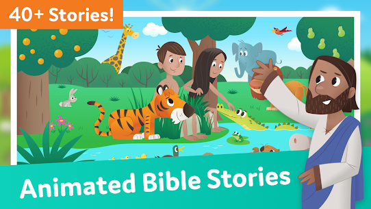 Free Bible App for Kids  Audio amp  Interactive Stories 1