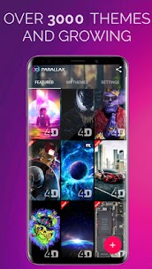 4D Parallax Wallpaper – 3D HD Live Wallpapers 4K 3