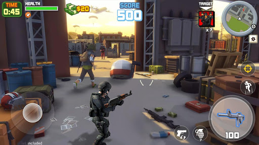 Gangster City: OpenWorld Crime Shooting Game- FPS  screenshots 4