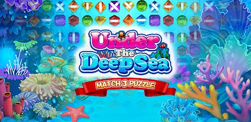 Under the Deep Sea: Jewel Match3 Puzzle screenshots 13