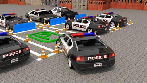 Modern Police Car Parking : Real Car Parking 3D  screenshots 1
