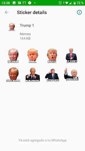 Memes con Frases Stickers en espau00f1ol para WhatsApp  Screenshots 6