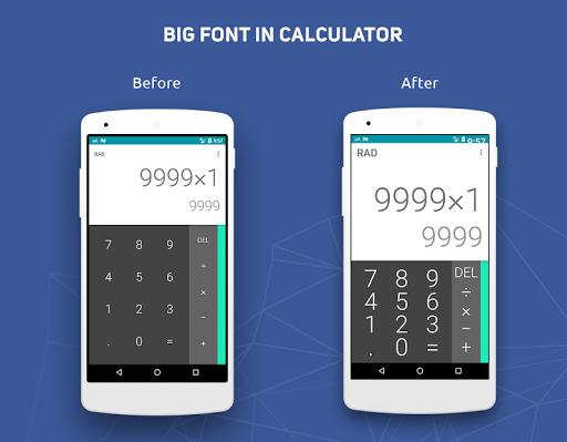 Big Font - Change Font Size & Text Size  Screenshots 4
