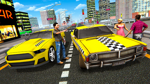 Extreme Taxi Driving Simulator - Cab Game apkdebit screenshots 12