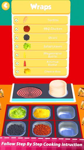 Food Simulator Drive Thru Cahsier 3d Cooking games screenshots 5