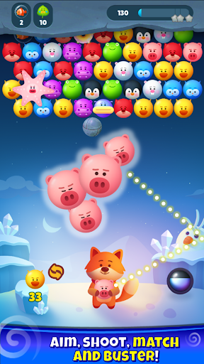 Bubble Shooter Pop Mania apktram screenshots 2