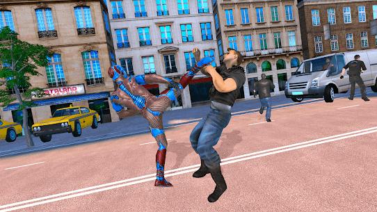 Superhero Captain Robot Games: Super Hero Man Game 4