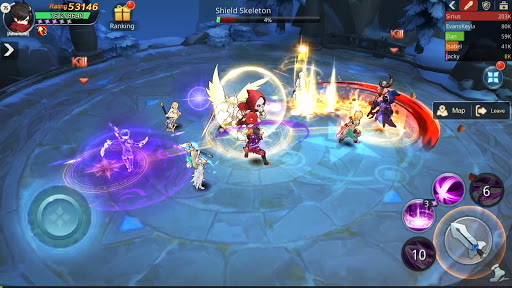 Guardians of Cloudia Apkfinish screenshots 2