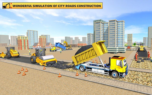 Grand City Road Construction Sim 2018 modavailable screenshots 13