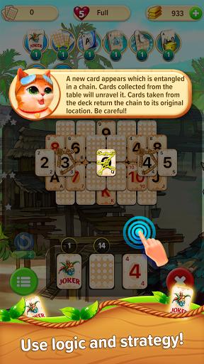 Little Tittle u2014 Pyramid solitaire card game 1.78 screenshots 9