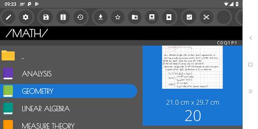 Ink&Paper Handwrite PDF Notes Trial apktram screenshots 1