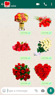 Flowers Stickers for WhatsApp