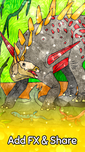 Dino Coloring Game 5