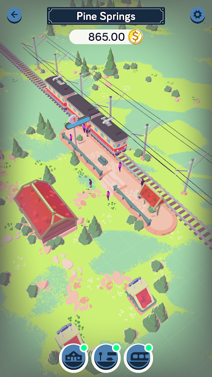 Train Station Idle Tycoon  poster 2