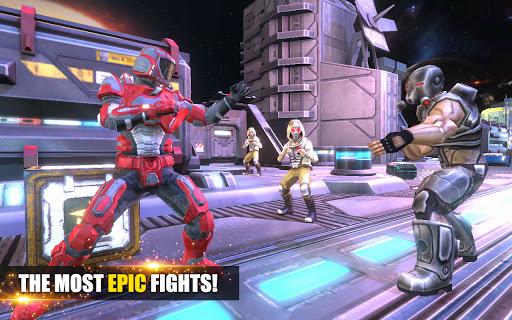 Télécharger Gratuit Super Robot Fighting - Real Kungfu Fight Game APK MOD (Astuce) screenshots 1