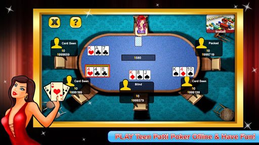 Teen Patti poker android2mod screenshots 10