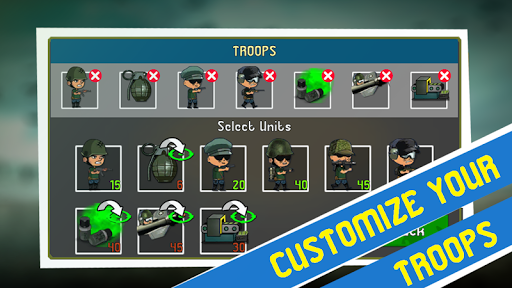 War Troops: Military Strategy Game for Free 1.25 screenshots 19