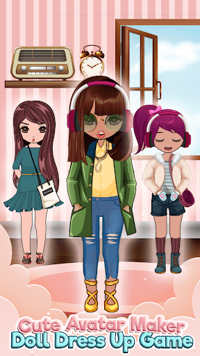 Cute Avatar Maker u2013 Create your own Character 1.0 Screenshots 6