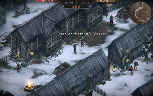 Vampire's Fall: Origins RPG modavailable screenshots 4