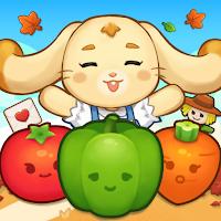 野菜栽培ポップ : 3 マッチパズル