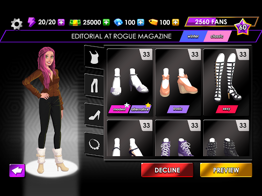Fashion Fever - Dress Up, Styling and Supermodels 1.2.7 screenshots 12