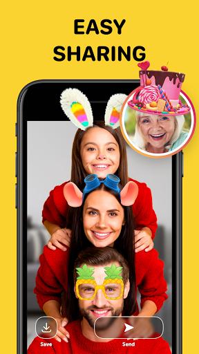 Banuba - Funny Face Swap & Camera Filters  Screenshots 4