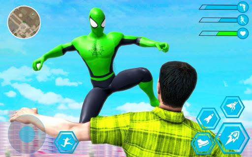 Spider Rope Hero Man: Miami Vise Town Adventure 1.0 Screenshots 7