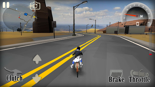 Wheelie King 4 - Online Getaway Wheelie bike 3D 1 screenshots 3
