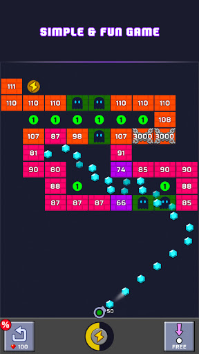 Brick Out - Shoot the ball 21.0312.00 screenshots 4