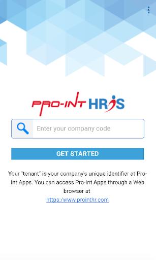 Pro-Int HRIS Mobile  screenshots 1