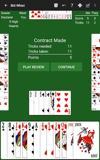 Bid Whist by NeuralPlay Apkfinish screenshots 15